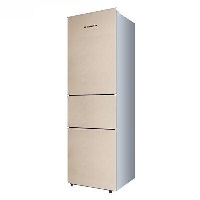 【当当自营】上菱BCD-191THCK金 家用三门冰箱三门三温 时尚金色