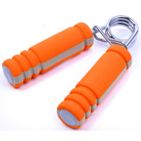 DDM代代美健身器 不锈钢弹簧握力器 DDM-LP-001 手力器 海绵握力器 单只