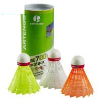 室外尼龙羽毛球塑料抗风耐打稳定娱乐训练(3只装) BMTY BSC 700 OUTDOOR 3只装 室外娱乐