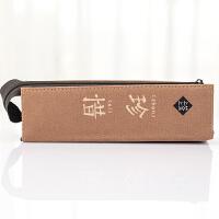 七夕礼物韩式简约笔袋女小清新大容量个性铅笔袋创意学生文具盒1 珍惜