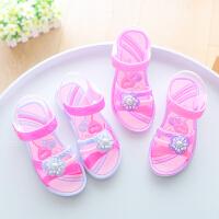 儿童凉鞋夏季女童鞋宝宝防滑软底室外休闲沙滩鞋学生亲子凉鞋