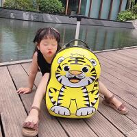 儿童行李箱可坐骑小孩卡通旅游箱可坐旅行箱童宝宝拉杆箱 +背包
