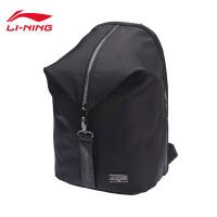 李宁双肩包女包2018新款运动时尚系列背包书包学生电脑包运动包ABSN116