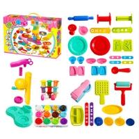 儿童橡皮泥模具工具套装安全面条机雪糕冰淇淋机彩泥粘土玩具