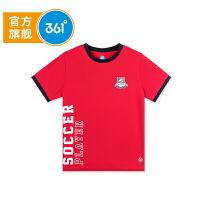 【折后叠券预估价:24】361度男童短袖针织衫夏季新款K51821212