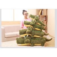 鳄鱼抱枕公仔睡觉枕沙发靠垫毛绒玩具玩偶布娃娃女生礼物