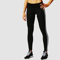 Adidas阿迪达斯 女子 紧身运动长裤 弹力透气速干长裤 BQ2072