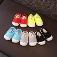 1-3岁织网镂空宝宝学步鞋夏季婴儿透气软底男女童鞋