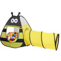 儿童帐篷游戏屋室内宝宝海洋球池婴儿小蜜蜂隧道爬行筒玩具屋