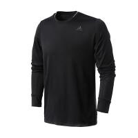 adidas阿迪达斯男子长袖T恤2018年新款跑步训练运动服BQ7195