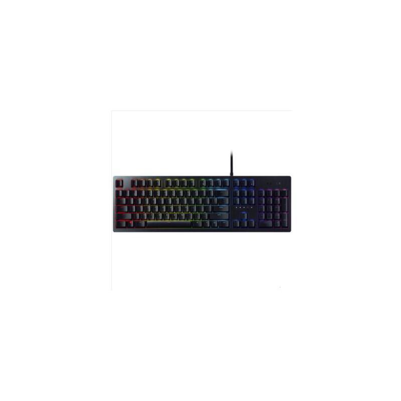 雷蛇(Razer)猎魂光蛛-光轴 电竞游戏机械键盘 幻彩背光