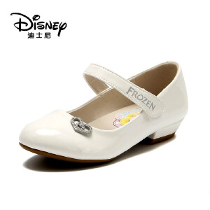 鞋柜/迪士尼春女童单鞋中童鞋女孩皮鞋公主鞋1