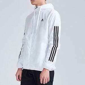adidas阿迪达斯男子夹克外套2018新款跑步休闲运动服CX4983