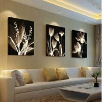 墙画现代简约装饰画客厅沙发后背景墙挂画卧室壁画无框画