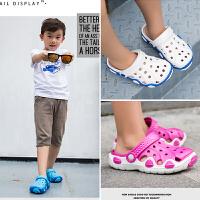 儿童拖鞋夏男宝宝拖鞋女童1-3岁防滑婴幼儿室内小公主