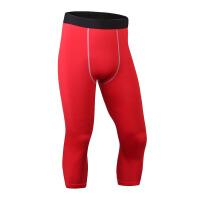 男子紧身七分裤 运动健身跑步短裤 速干7分裤衣