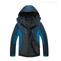 AOTU冲锋衣男三合一女可脱卸两件套情侣防水透气保暖加厚户外徙步登山服