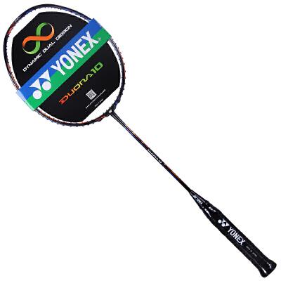 Yonex尤尼克斯羽毛球拍单拍李宗伟战拍碳素单拍DUORA 10 双刃10阴阳拍 强力进攻 正反全能