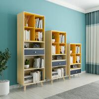 北欧简约现代简易书柜组合小户型书房组装书架储物柜收纳柜置物架123