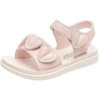 女童凉鞋儿童沙滩鞋夏季小女孩公主鞋软底学生中大童鞋子