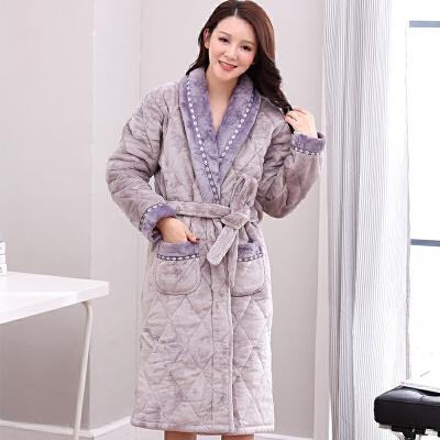 珊瑚绒夹棉情侣睡袍加厚240斤男女士外套浴袍中老年夹棉睡衣冬天 一般在付款后3-90天左右发货,具体发货时间请以与客服协商的时间为准