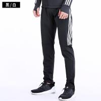 跑步运动裤男长裤春秋薄款足球训练裤速干弹力透气收腿小脚健身裤