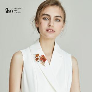 shes饰品 sunflower手工系列向日葵花朵胸针 胸花女配饰