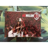 AC米兰百大球星纪念版套卡 经典意甲米兰足球卡 球迷礼品生日礼物 黑色 黑色