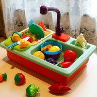 儿童过家家洗碗机玩具出水厨房水池女孩男宝宝纽奇做饭玩具