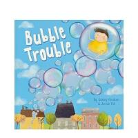 【首页抢券300-100】Imagine That-Bubble Trouble 泡泡闯祸了 亲子英语绘本 趣味故事 英