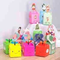 圣诞节装饰品创意礼品平安夜女生礼物苹果包装袋子个性礼盒装盒子