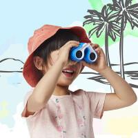 户外望远镜儿童玩具高清高倍8倍镜户外小型便携双筒望远镜