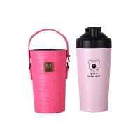 【限时秒杀】杯具熊(BEDDYBEAR)能量保温杯碱性矿物质不锈钢水壶健康杯泡茶杯700ml 粉色