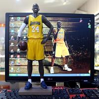 nba篮球公仔科比詹姆斯手办人偶模型摆件球迷周边礼物送男生 仿真 大科比