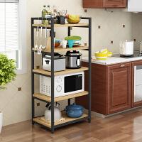 微波炉置物架落地多层烤箱锅碗架调味料收纳架子储物架厨房置物架