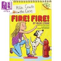 【中商原版】Hilde Cracks The Case #03: Fire! Fire! 学乐大树系列:小记者希尔德03