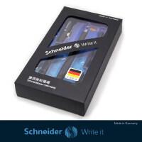 德国SCHNEIDER一笔两用施耐德BK400钢笔+水笔 学生练字书写礼盒装