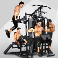 五人站大型健身器材家用 多功能综合训练器械组合套装健身房运动