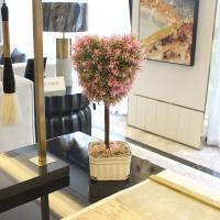 仿真假花生命之树植物草球盆景仿真花盆栽套装现代家居客厅装饰花