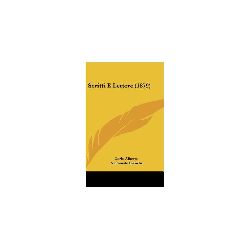 【预订】Scritti E Lettere (1879) 预订商品,需要1-3个月发货,非质量问题不接受退换货。