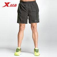 特步男子服装时尚休闲运动短裤舒适五分裤新款跑步短裤884229679203