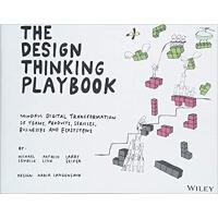 【现货】英文原版 设计思维实战指南:关注团队、产品、服务、企业和生态系统的数字化转型 The Design Think