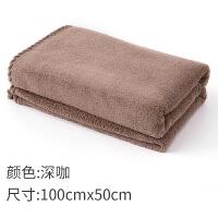 儿童浴巾女家用纯棉吸水速干抹胸大浴巾可穿不掉毛可爱男裹巾CR型