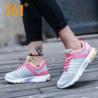 【满100减30/满279减100】361跑步鞋 女鞋运动鞋361度2018夏季新款跑鞋气垫休闲鞋581622205
