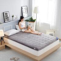 加厚榻榻米床�|床褥1.2米1.5�p人1.8m床地�睡�|可折�B�|被褥子