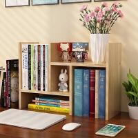 书架简易桌上置物架小书柜儿童收纳简约现代学生用宿舍办公书桌面