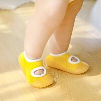 婴儿学步鞋宝宝夏季幼儿软底薄款地板鞋子儿童室内凉鞋