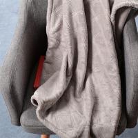 家纺冬季毛毯加厚 保暖床单盖毯法兰绒珊瑚绒毯子沙发毯 152cmx234cm