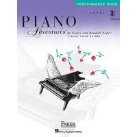 预售 Piano Adventures: Level 3B: Performance Book (2nd Edition