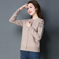 版年轻女款春季修身显瘦唯美可爱街头潮流针织衫